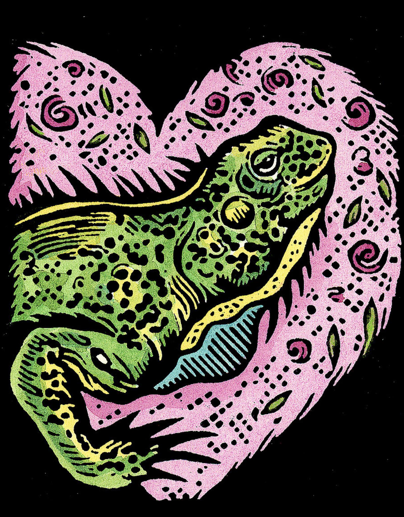 Evon Zerbetz Iguana Bask in Your Love (#90) | Evon Zerbetz