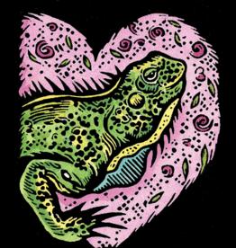 Evon Zerbetz Iguana Bask in Your Love (#90)