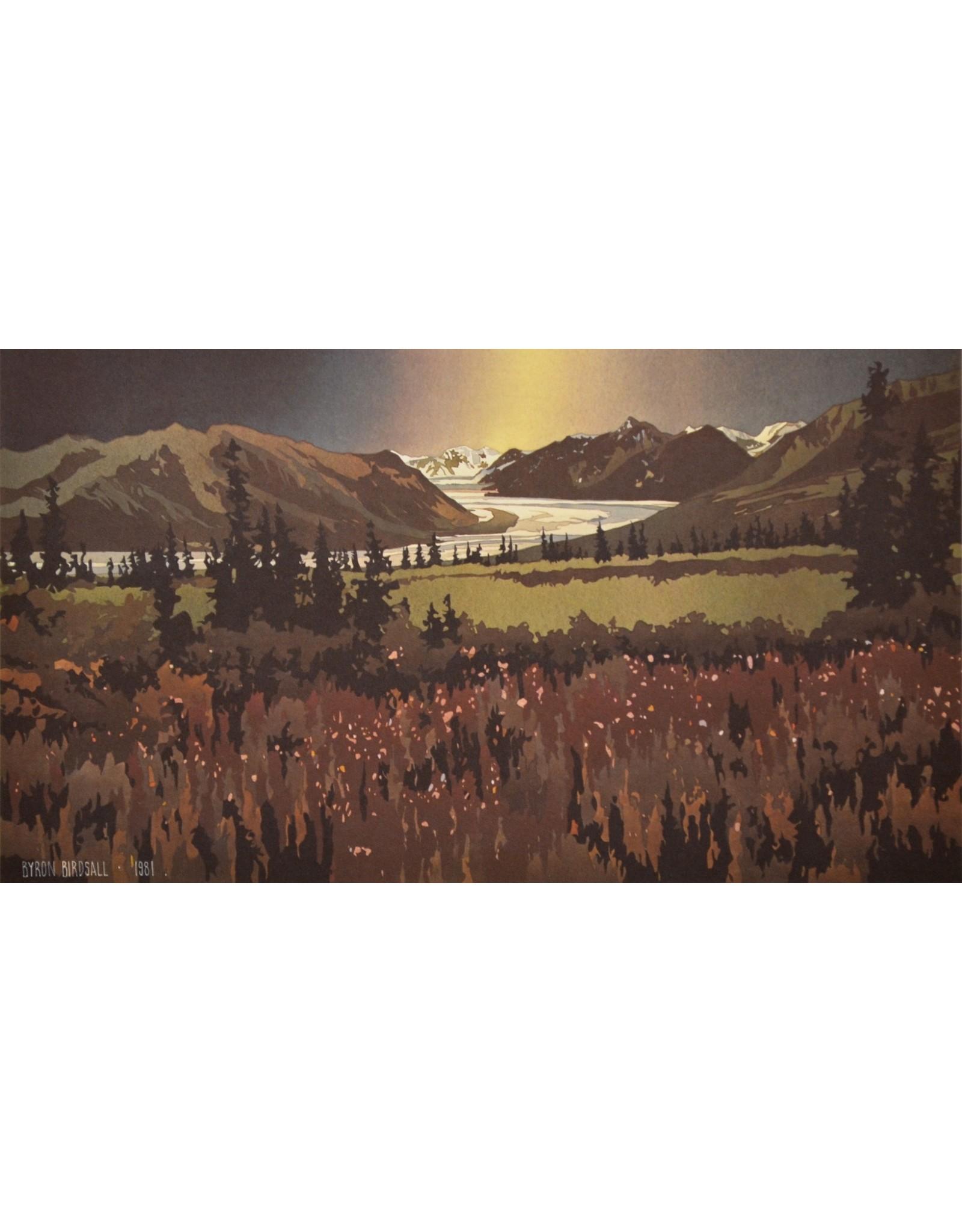 Byron Birdsall Fireweed Glacier | Byron Birdsall