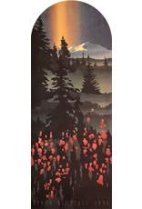 Byron Birdsall Fireweed Mt. Arch | Byron Birdsall