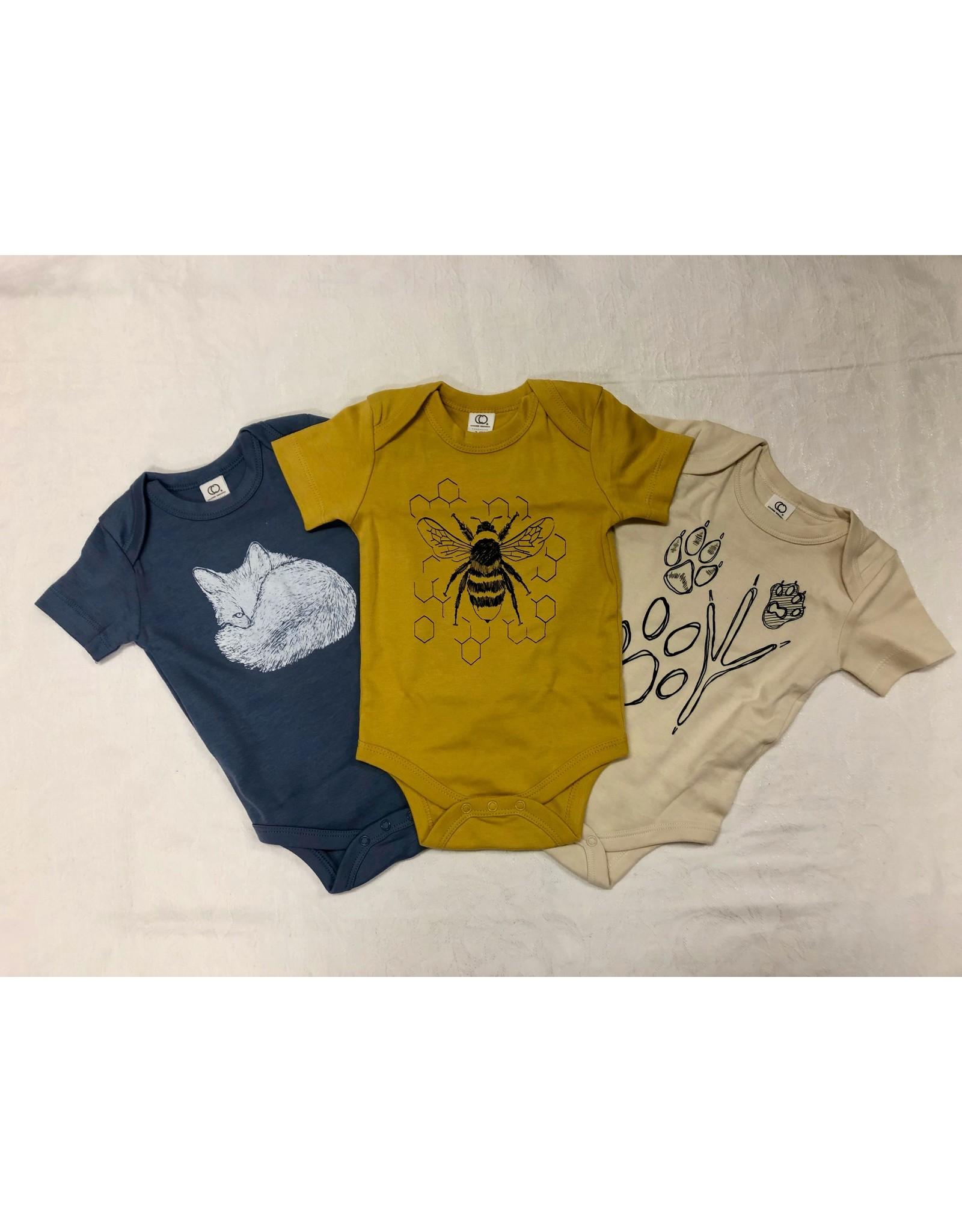Frost + Fur Onesie (bumble bee)   Frost + Fur