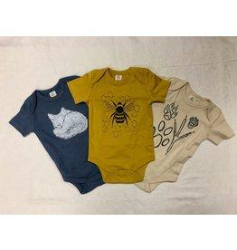 Frost + Fur Onesie (bumble bee)