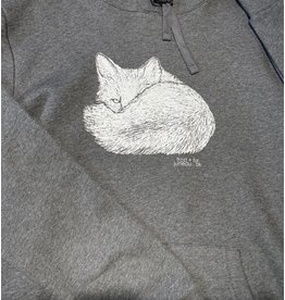 Frost + Fur Adult Hoodie (fox)