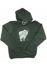 Frost + Fur Adult Hoodie (goat) | Frost + Fur