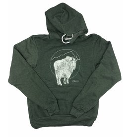 Frost + Fur Adult Hoodie (goat)
