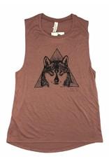 Frost + Fur Muscle Tank (wolf) | Frost + Fur