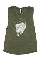Frost + Fur Muscle Tank (goat) | Frost + Fur