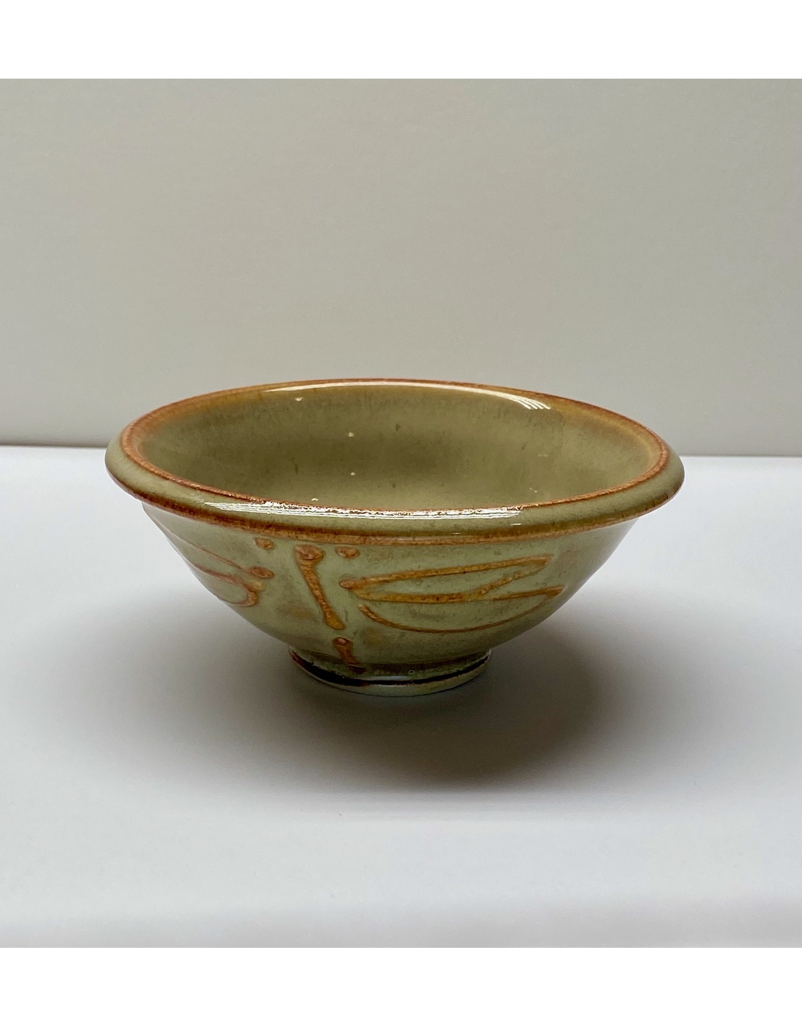 Five Finger Pottery Dipping Bowl (dragonfly) | Five Finger Pottery