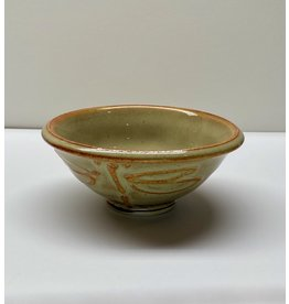 Five Finger Pottery Dipping Bowl (dragonfly)
