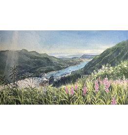 Chihiro Pierce View from MT. Roberts (unframed original)
