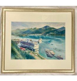 Chihiro Pierce Dream Destination (framed original)