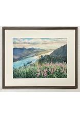 Chihiro Pierce Heavenly View (framed original)   Chihiro Pierce
