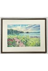 Chihiro Pierce Spring Buffet (framed original)   Chihiro Pierce