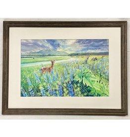 Chihiro Pierce Wild Meadow (framed original)