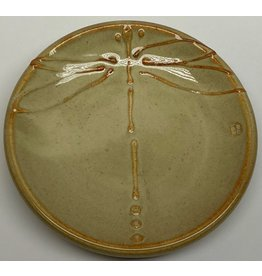 Five Finger Pottery Large Plate (dragonfly)