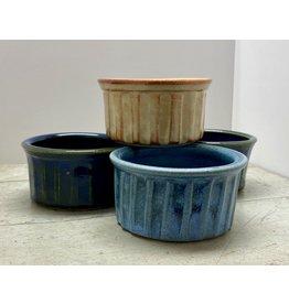 Five Finger Pottery Ramekin Dish