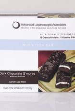 Advanced Laparoscopic Associates Dark Chocolate S'mores Bar