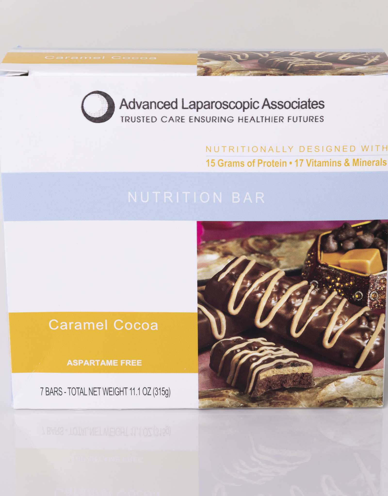 Advanced Laparoscopic Associates Caramel Cocoa Bar