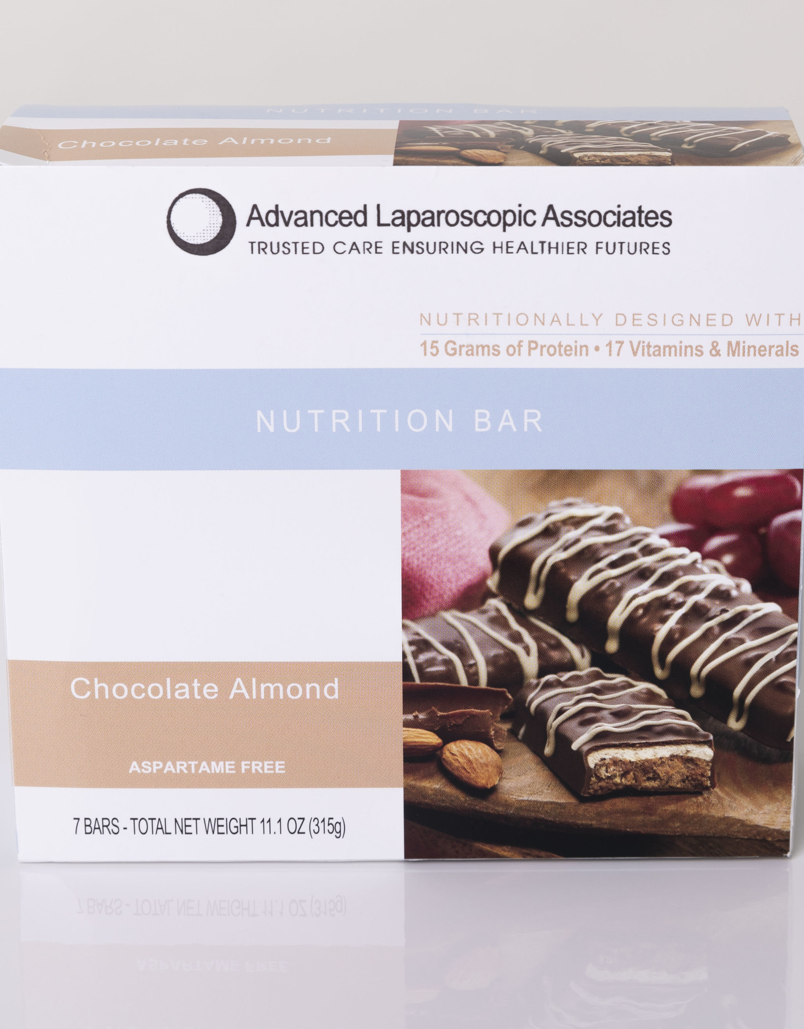 Advanced Laparoscopic Associates Chocolate Almond Bar