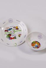 Advanced Laparoscopic Associates Portion Perfection Bariatric Plate and Bowl Set