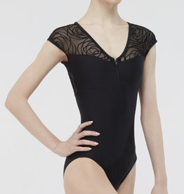 Wear Moi Wear Moi GRENAT Cap Sleeve Leotard