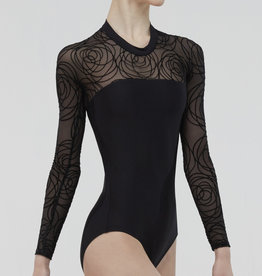 Wear Moi Wear Moi Meringue Long Sleeve Leotard