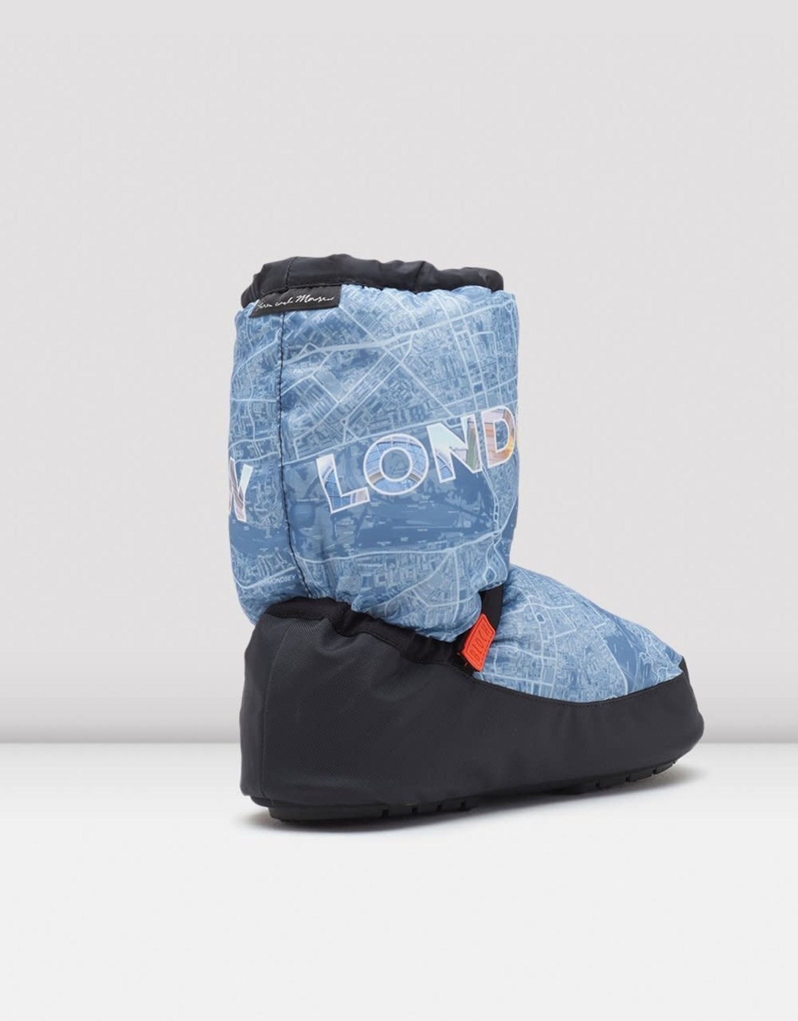 Bloch Bloch  Warm Up Bootie City Map IM019CM