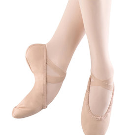 Bloch Bloch Pump Canvas Ballet Shoe Girls S0277G