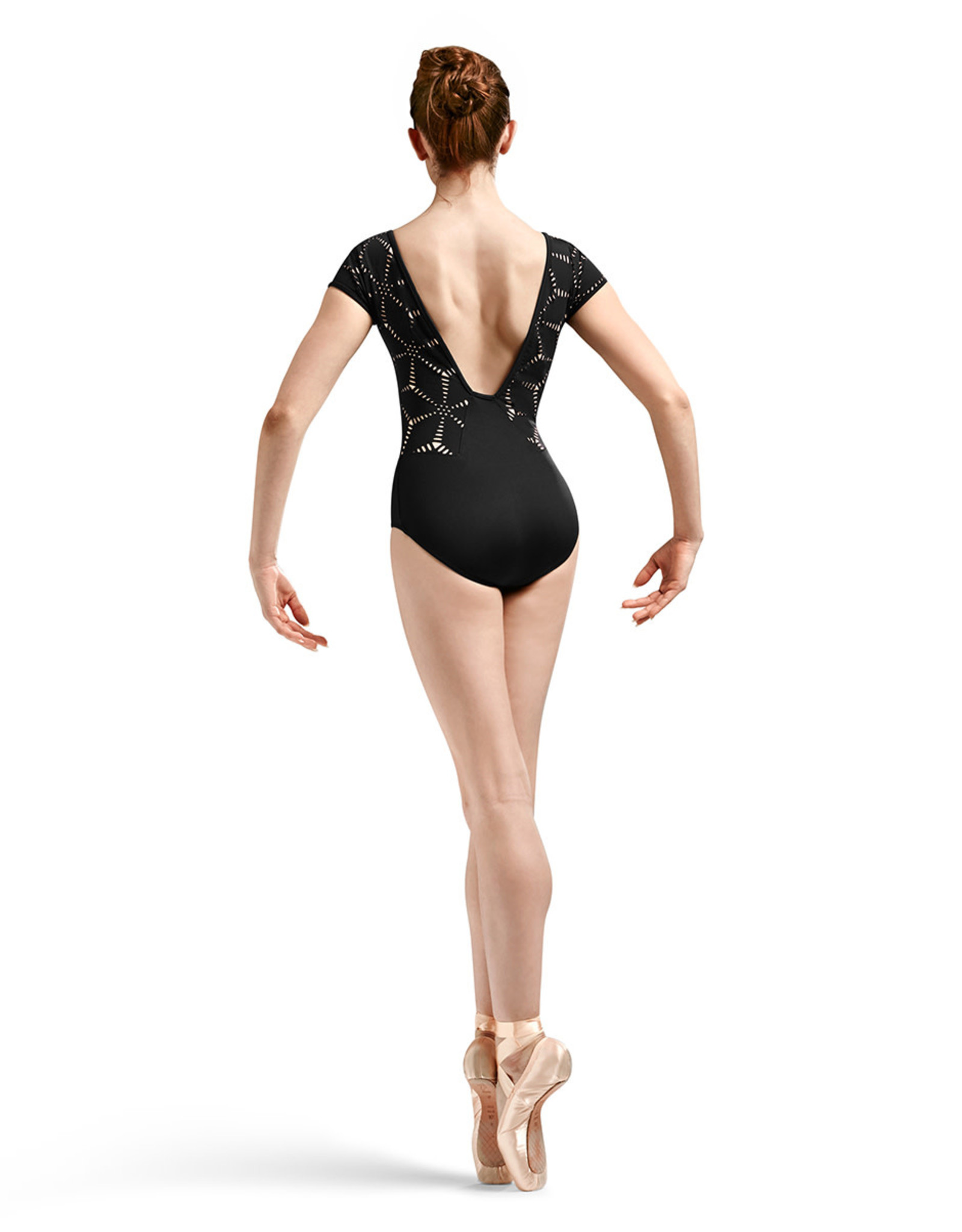 Bloch Bloch Mirella Cap Sleeve Laser Cut Leotard MJ7176