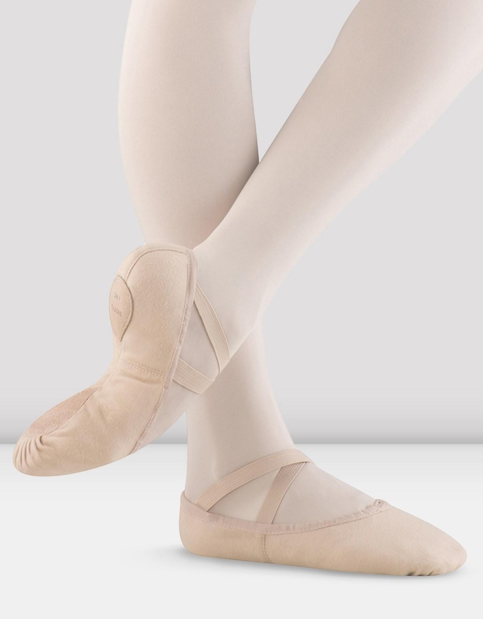 Bloch Bloch Pump Canvas Ballet Shoe Girls S0277G
