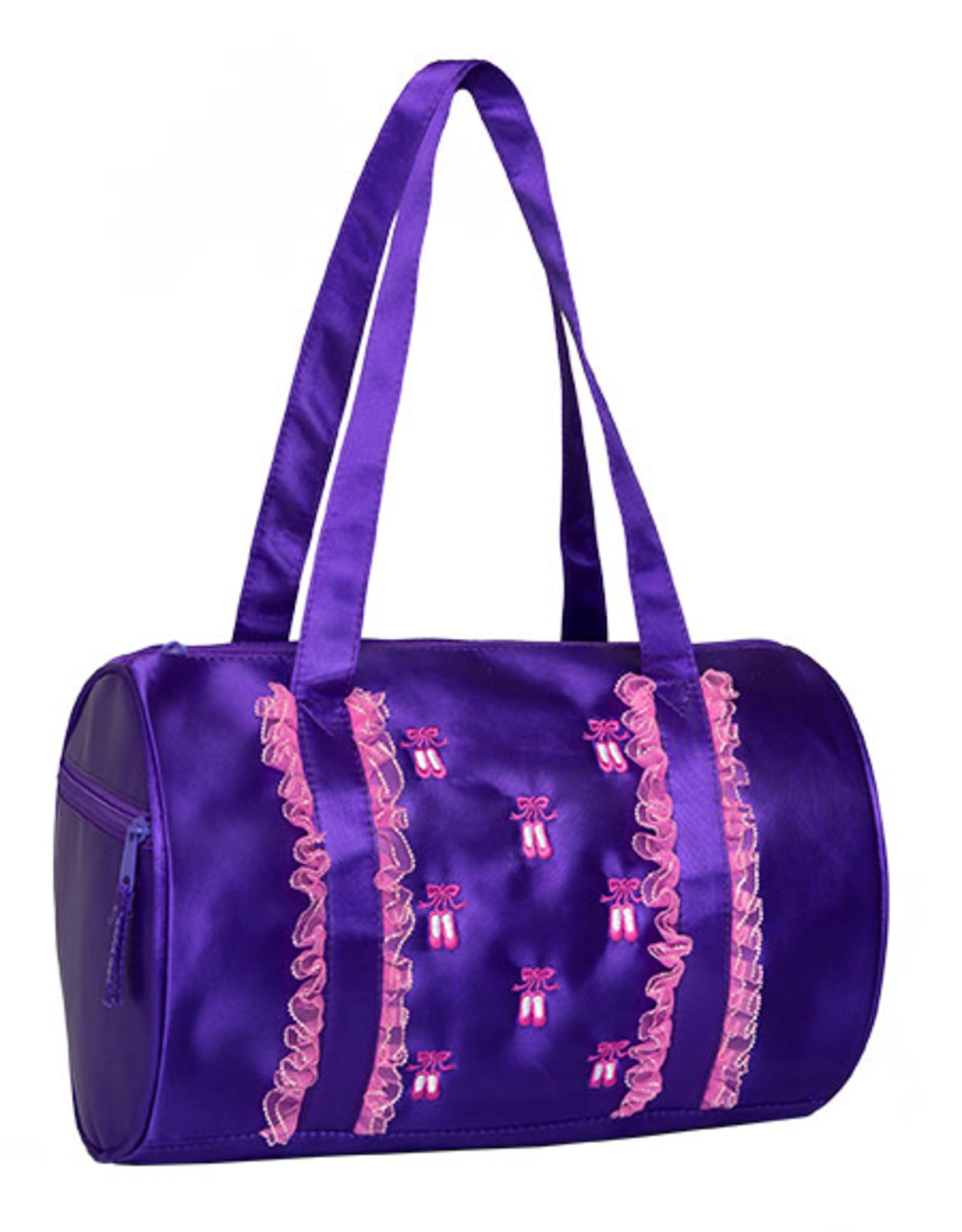 Horizon Ruffles2 Duffle Purple Bag