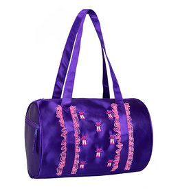 Horizon Ruffles2 Duffle Purple Bag