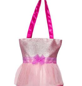 Tutu Cute Tote Sparkly Pink