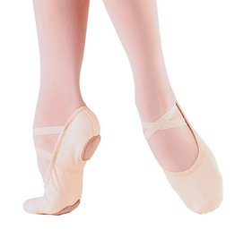 So Danca So Danca Split Sole Elasticized Canvas Ballet Shoe SD16