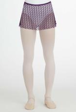 Capezio Capezio Pull On Jacquard Skirt 10192