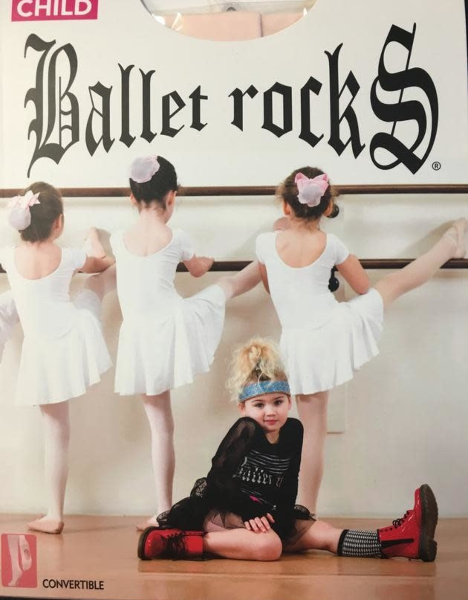 Ballet Rocks Ballet Rocks Child Mesh Backseam