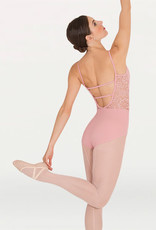 Body Wrappers Body Wrappers Camisole Romantic Lace Leotard P1101