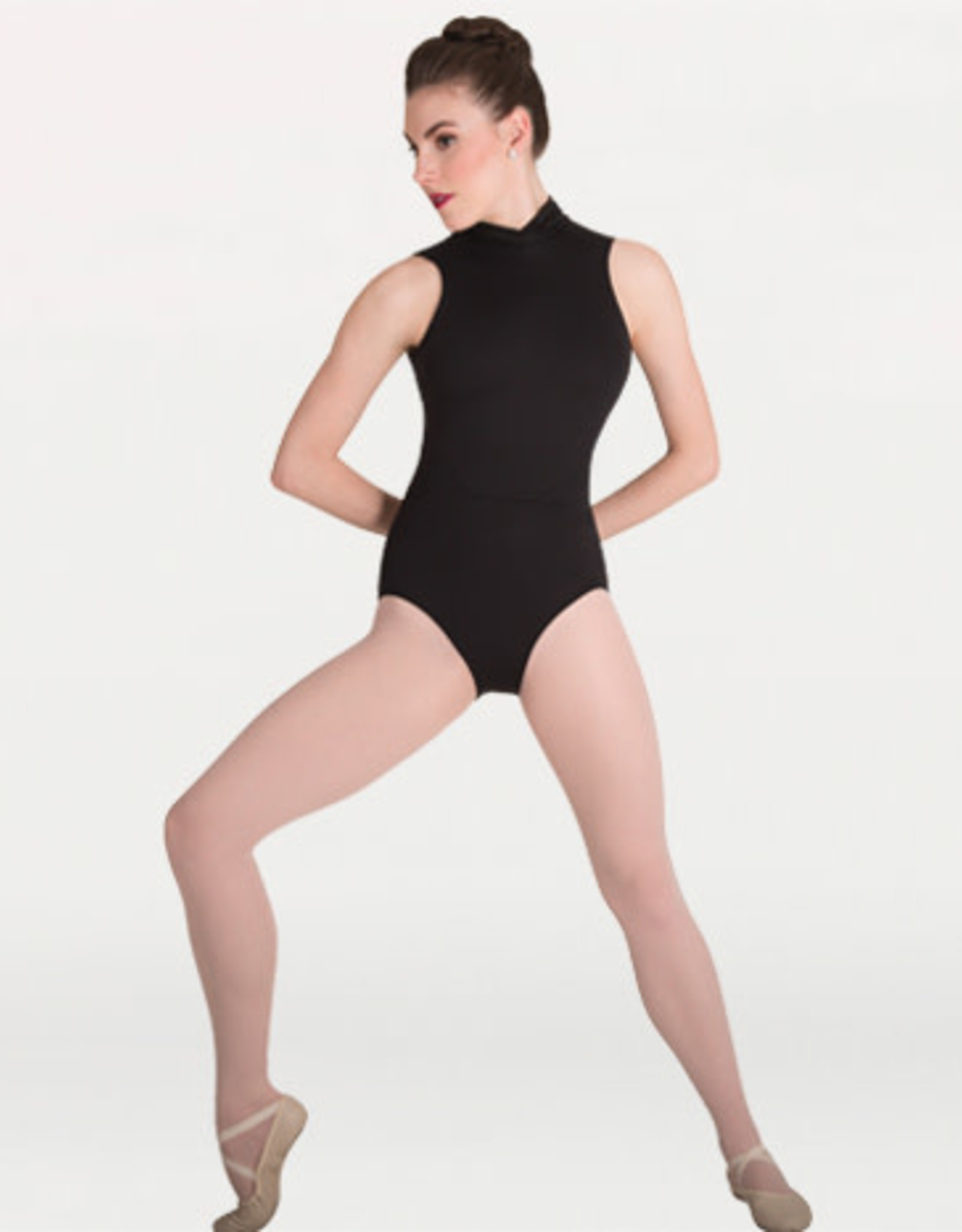 Body Wrappers Bodywrappers Adult Power Mesh Accent Leotard
