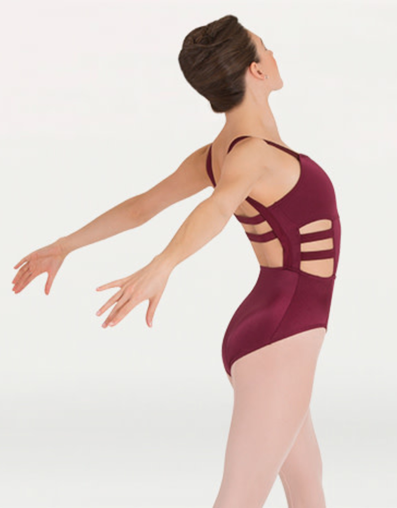 Body Wrappers Body Wrappers Strappy Camisole Leotard P1132