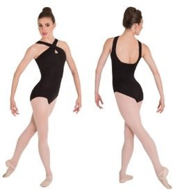 Body Wrappers Body Wrappers Crosss Over Neck Leotard P1171