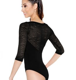 So Danca So Danca Desiree Leotard Black XLarge D1172