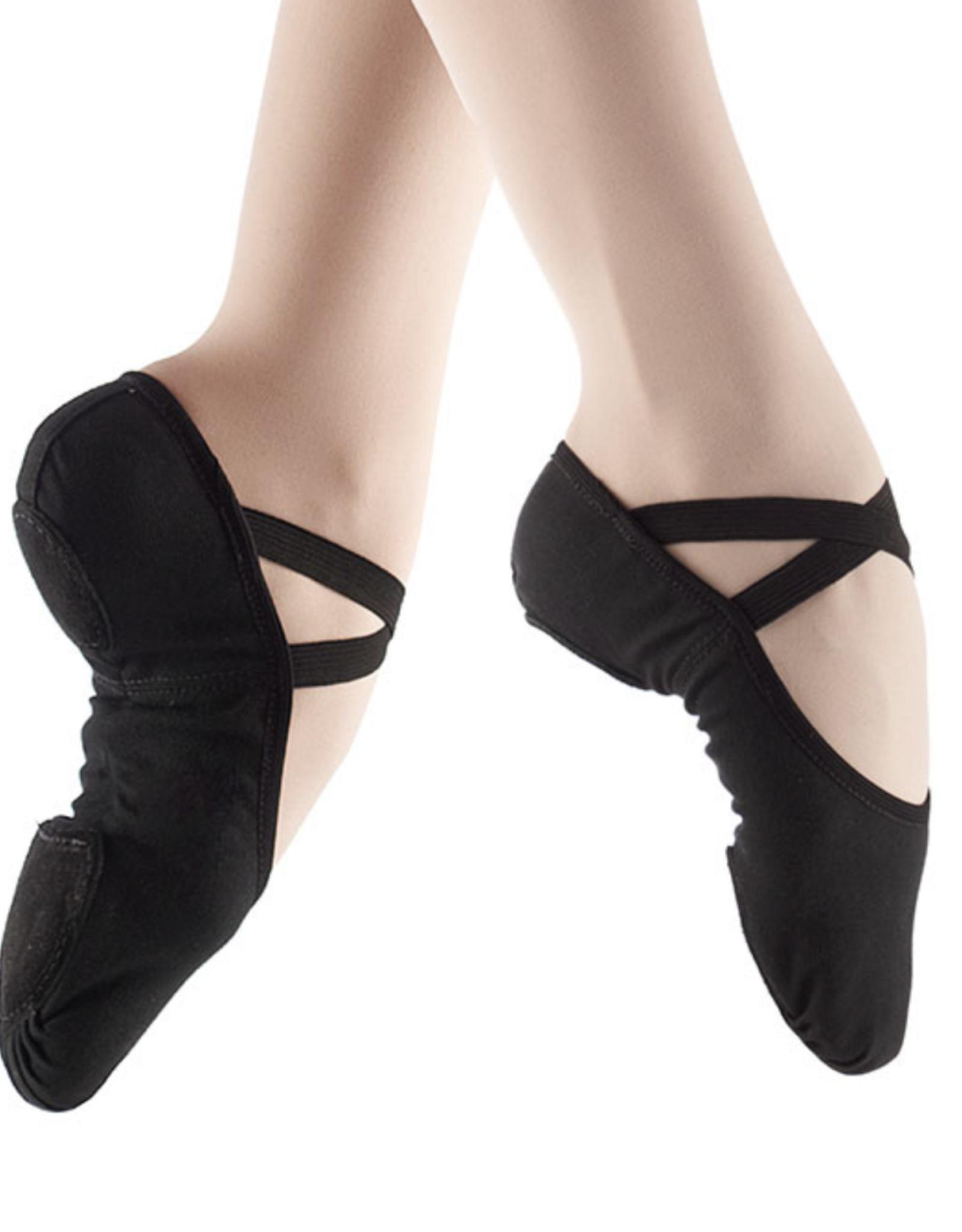 So Danca So Danca Split Sole Elasticized Canvas Ballet Shoe SD16