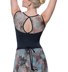 Lulli Lulli Printed Mesh Skirt
