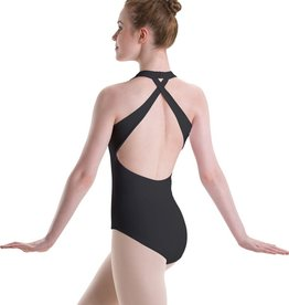 Motionwear Motionwear Adj Pinch Cross Halter Leotard 2453