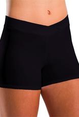 Motionwear Motionwear V-Waist Shorts Adult 7113