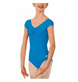 ABT Cap Sleeve Leotard China Blue Large