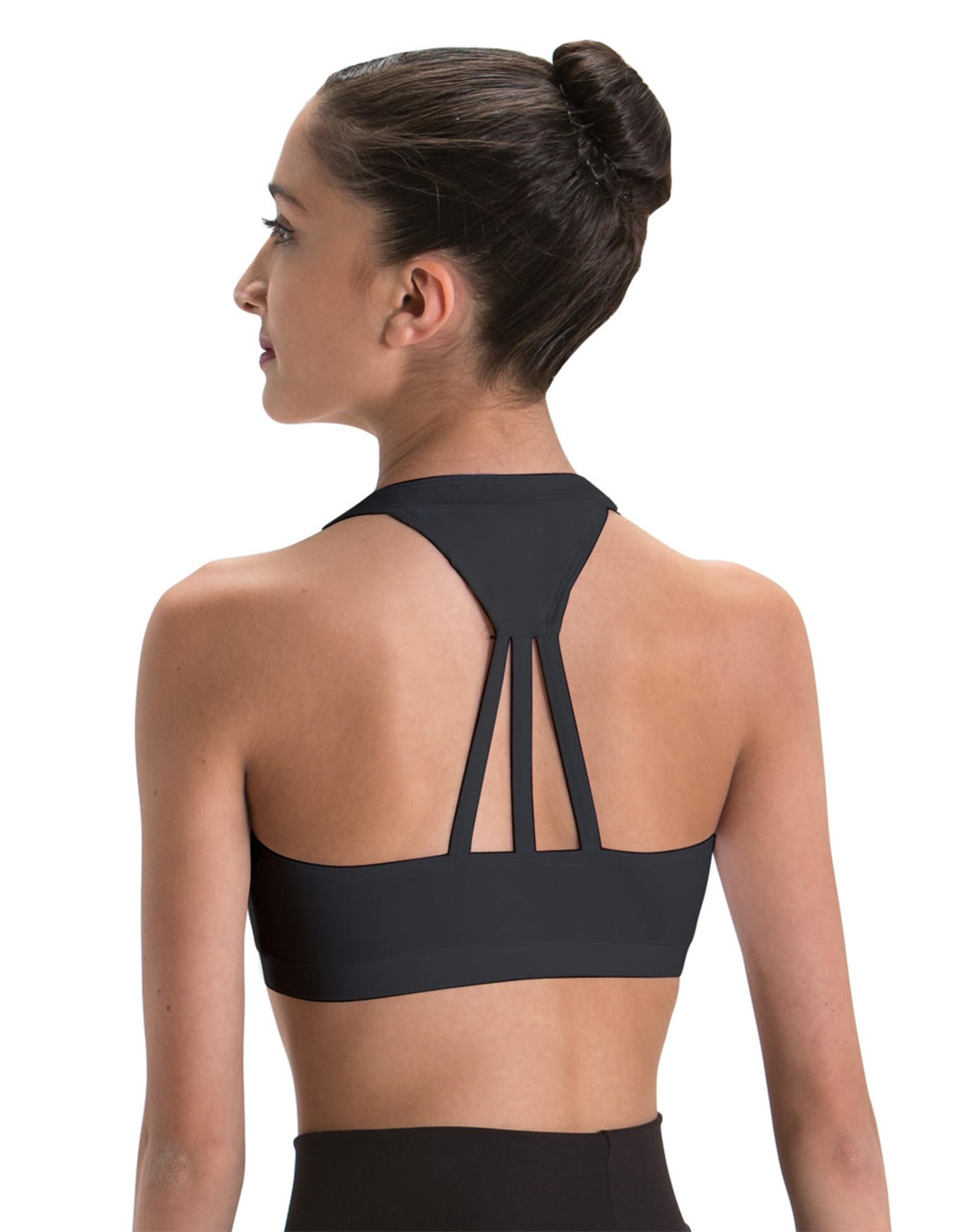 Motionwear Motionwear Adult Wide V-Neck Halter 3-Strap Back