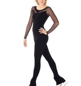 Mondor Mondor Dance / Ice Skating Unitard Black Adult Small