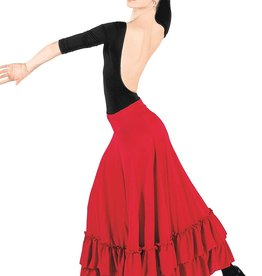 Bal Togs Flamenco Poly Skirt Child  8 -10 (9100C)