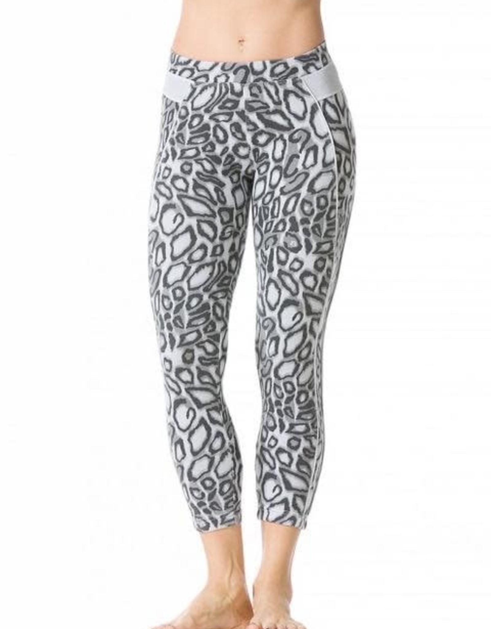 Hard Tail Hard Tail Leopard Print Crop Leggings LE011